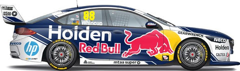 1:18 / 1:43 / 1:64 2019 Jamie Whincup's Red Bull Holden Racing Team