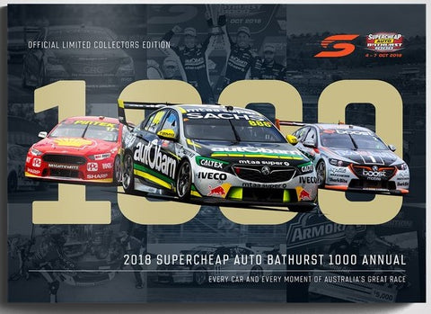 2018 SUPERCHEAP AUTO BATHURST 1000 ANNUAL