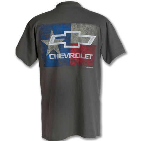 TEXAS FLAG CHEVY BOWTIE T-SHIRT