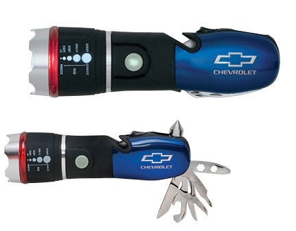 CHEVROLET BOWTIE FLASHLIGHT MULTI-TOOL