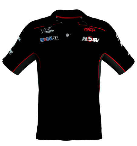 2017 M1HSV Adult Performance Polo - Black