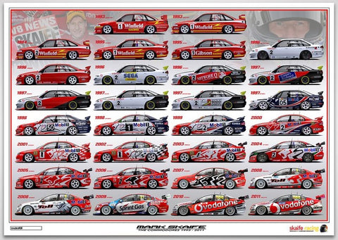 Mark Skaife - The Commodores 1993-2011 Limited Edition Print