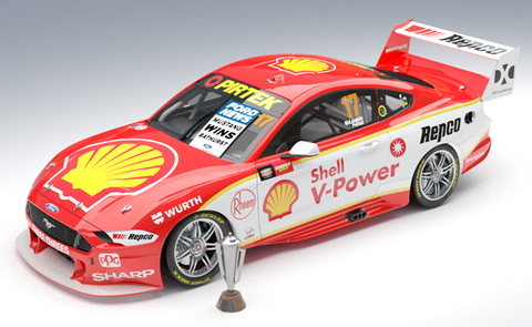 1:12 Shell V-Power Racing Team #17 Ford Mustang GT Supercar 2019 Bathurst Winner - Pre-order