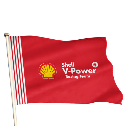 2019 SHELL V-POWER LARGE FLAG