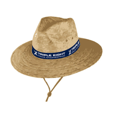 TEAM TRIPLE 888 STRAW HAT