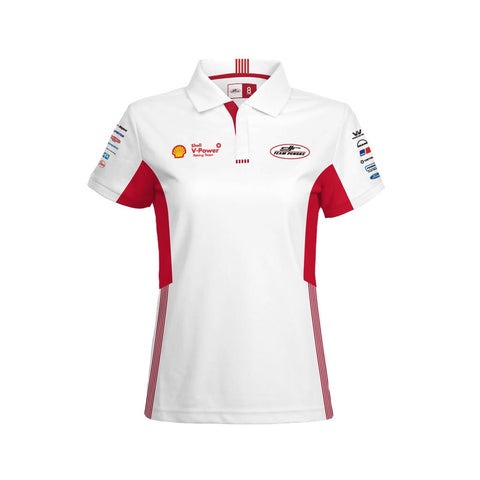 2020 SVPRT POLO WOMEN'S WHITE