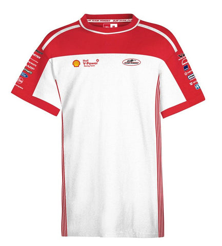 2019 SHELL V-POWER WHITE TEAM T-SHIRT