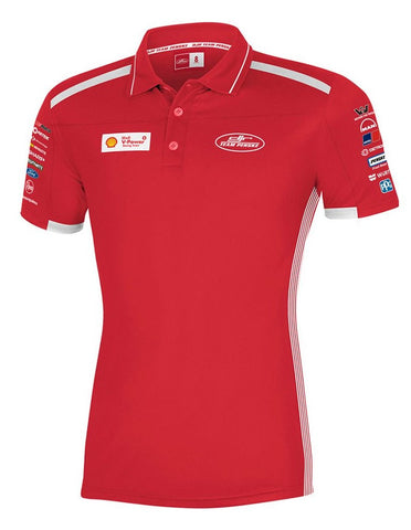 2019 SHELL V-POWER WOMAN'S POLO RED