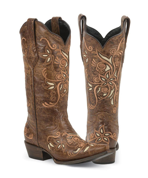 Black Star Boots- Costilla Brown