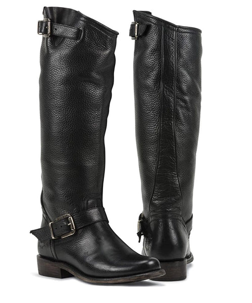 Virgo Black- Black Star Boots