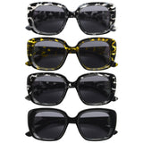 4-Pack Bifocal Sunglasses Women Chic Bifocal Tinted Readers
