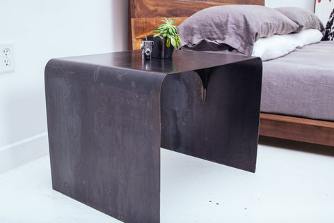 Hot Rolled Side Table