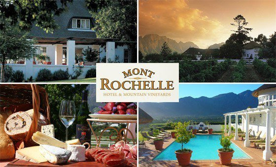 Win a Dining Experience at Mont Rochelle, Franschoek with Vinwood