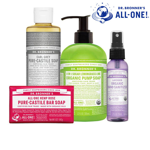 Dr Bronner's Certified Organic & Fair Trade Soap