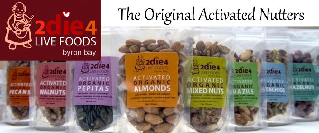 2die4 Live Foods Activated Nuts