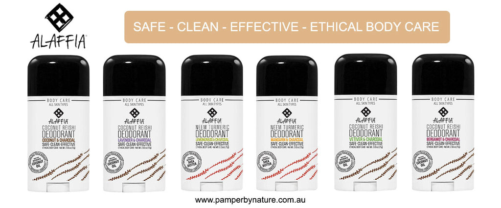 Alaffia Ethical Body Care Products | Pamper by Nature