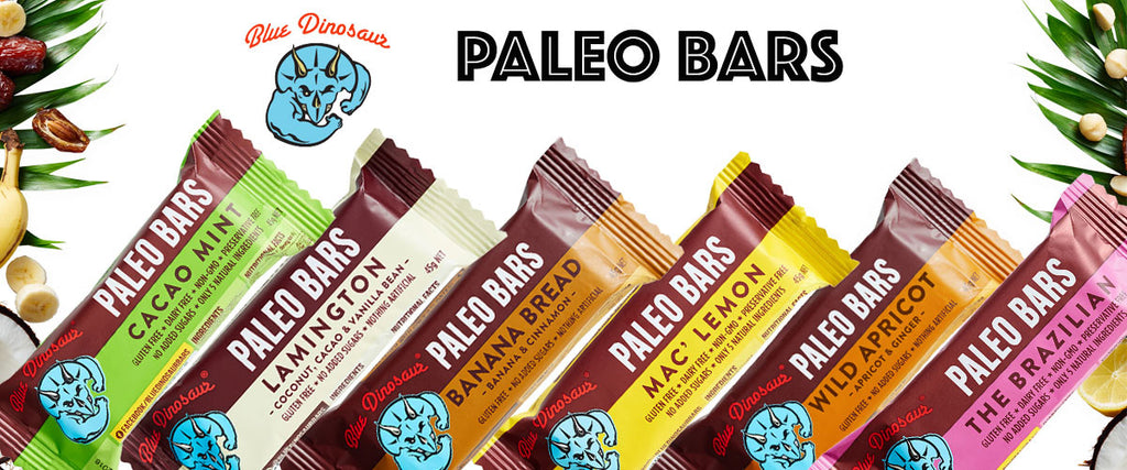 Blue Dinosaur Paleo Bars - Pamper by Nature