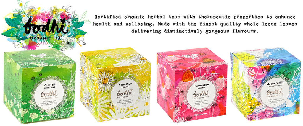 Bodhi Certified Organic Herbal Tea Range