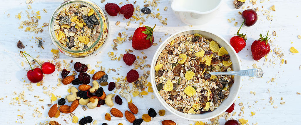 Breakfast Cereal & Muesli Banner