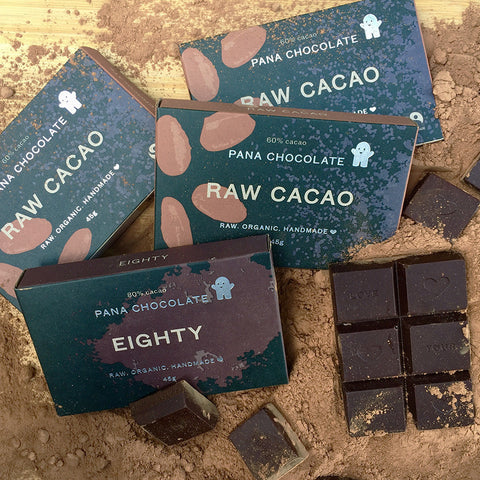 Raw Organic Handmade Pana Chocolate