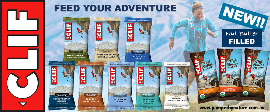 Clif Bar Energy Bars | Pamper by Nature