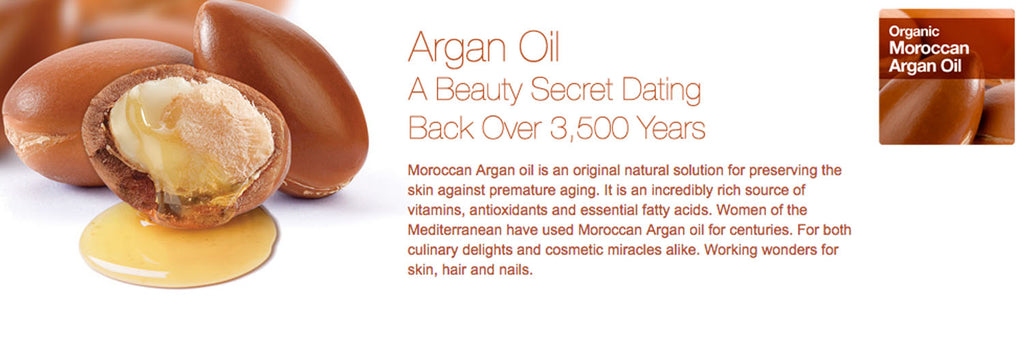 Moroccan Argan Oil Skincare Products