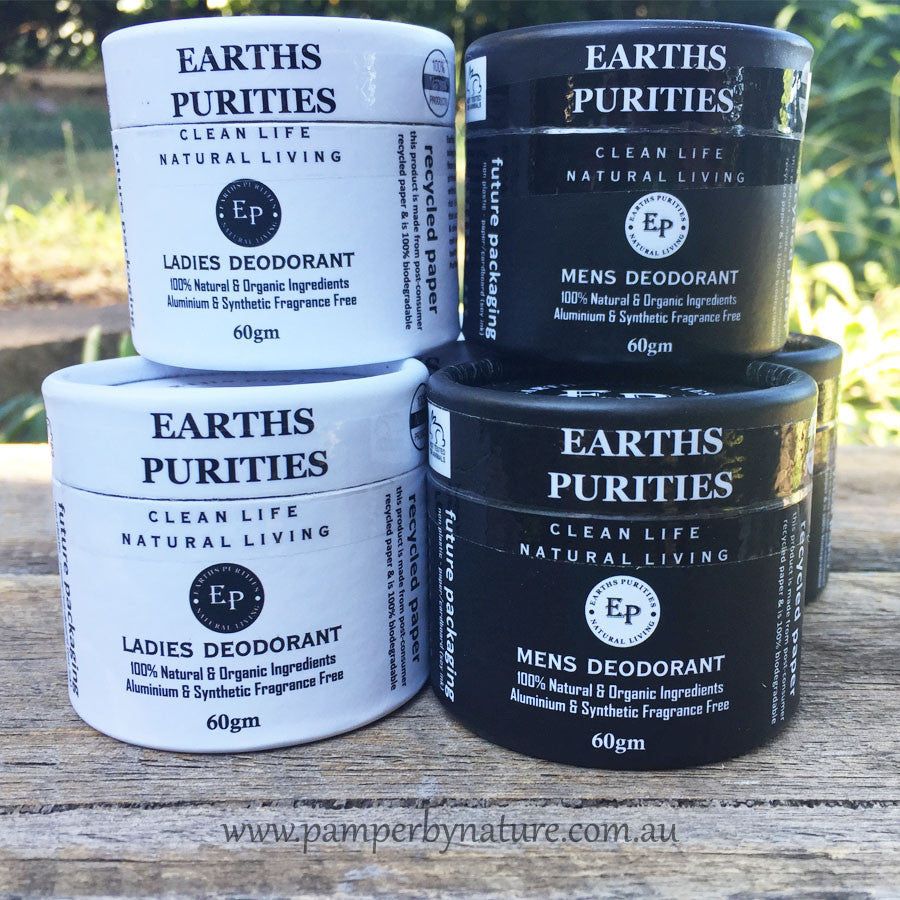 Earths Purities Natural & Organic Deodorant