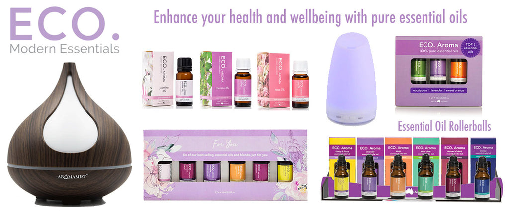 Eco Modern Essentials - Essential Oils for your Health & Wellbeing