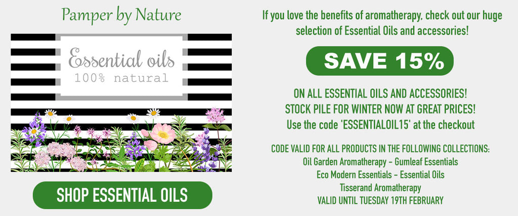 Essential Oil Sale - Pamper by Nature