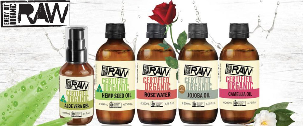 Every Bit Organic Raw Banner - Pamper by Nature
