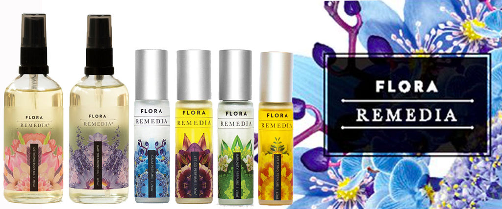 Flora Remedia Natural Healing Aromatherapy Infusions