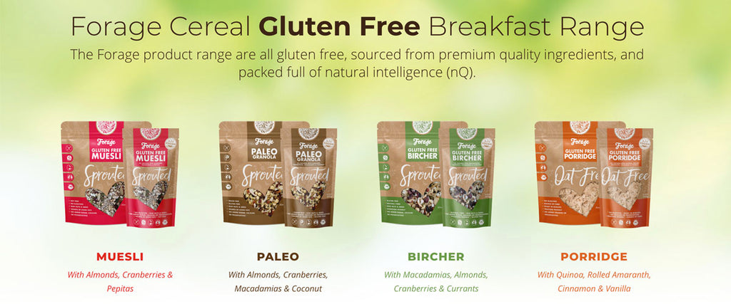 Forage Cereal - Gluten Free Cereal Range - Pamper by Nature