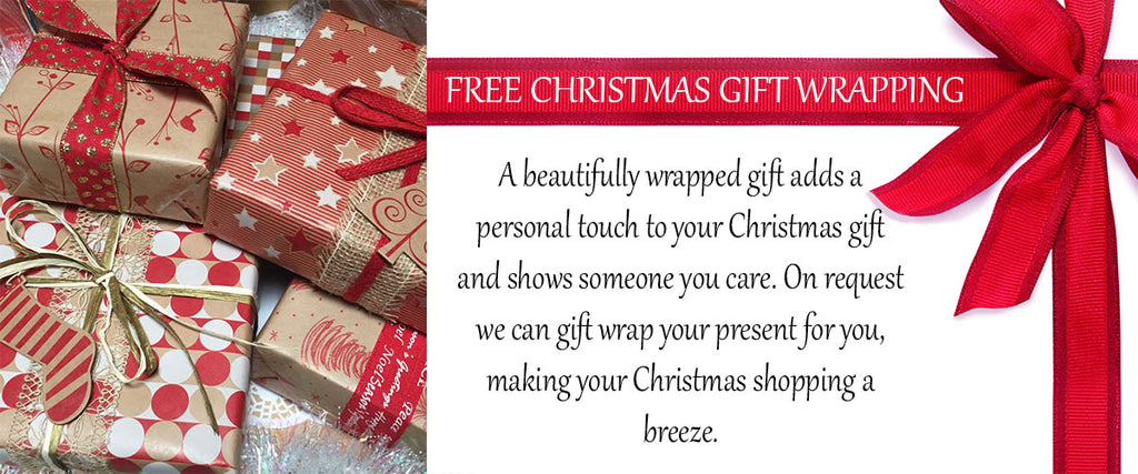 Free Christmas Gift Wrapping - Pamper by Nature