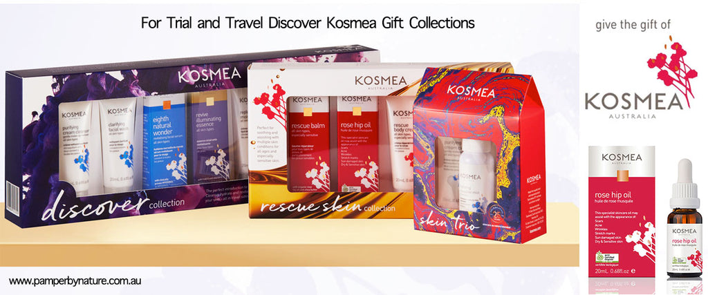 Kosmea Natural Skin Care Products - Pamper by Nature