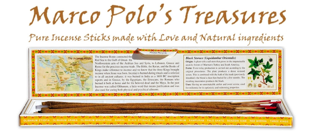 Marco Polo's Treasures Pure Incense Sticks