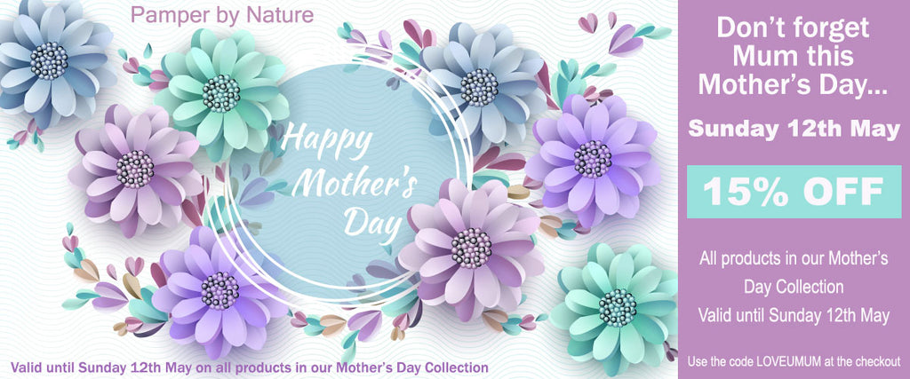 Mother's Day Natural & Organic Gifts - Pamper by Nature