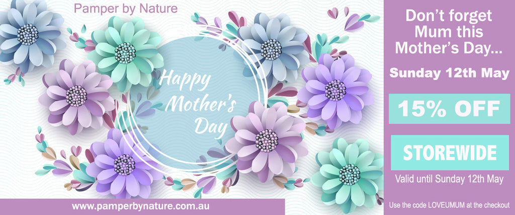 Pamper by Nature Mothers Day Sale