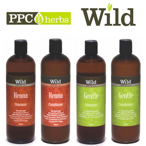 PPC Herbs Wild Shampoo & Conditioner - Pamper by Nature