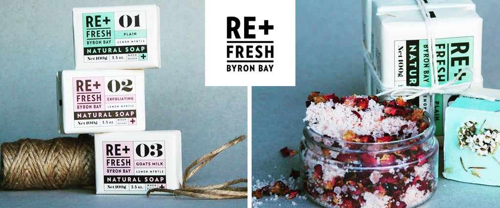 ReFresh Byron Bay Natural Skin Care Products | Pamper by Nature