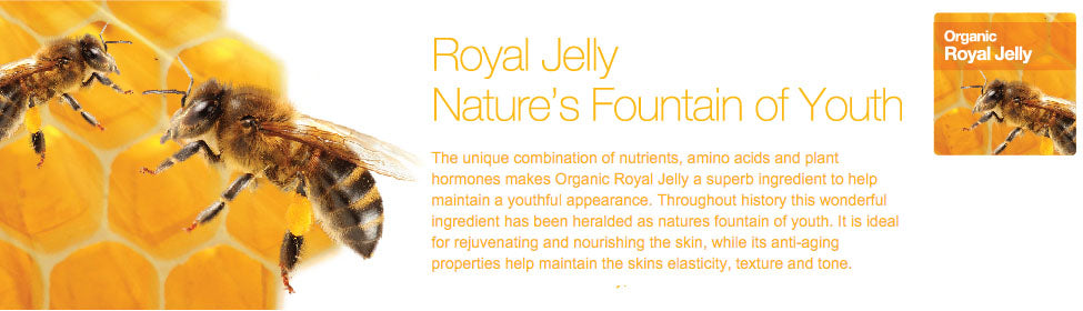 Dr Organic Royal Jelly Skincare Products