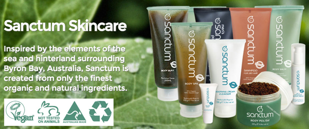 Sanctum Skincare Organic Skincare & Body Care Products