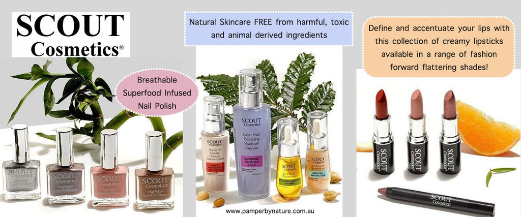 SCOUT Cosmetics Australia | Pamper by Nature