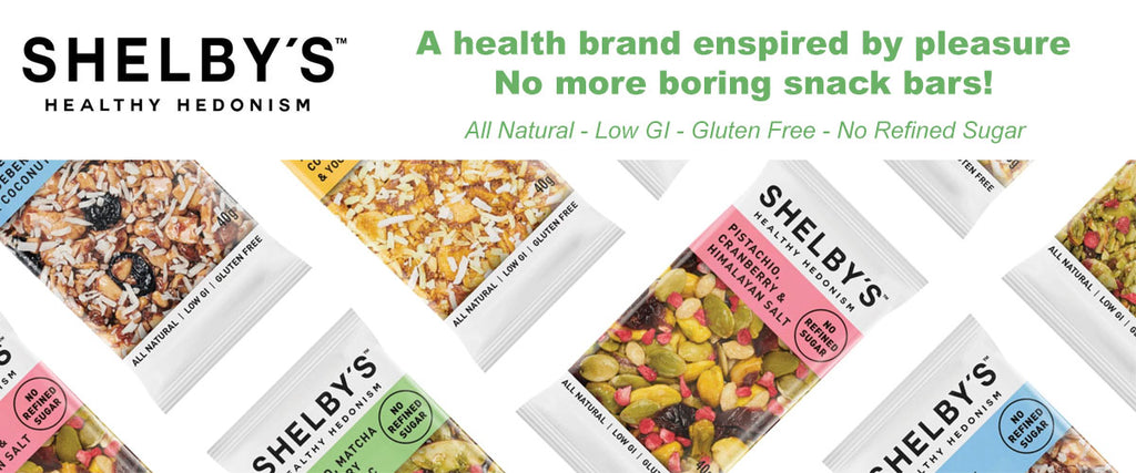 Shelby's Healthy Snack Bars - Pamper by Nature
