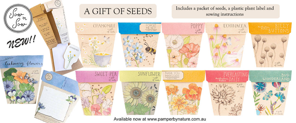 Sow 'n Sow A Gift of Seeds Australian Made