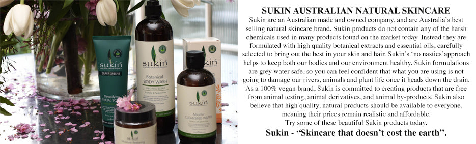 Sukin Natural Skincare that doesn't cost the earth