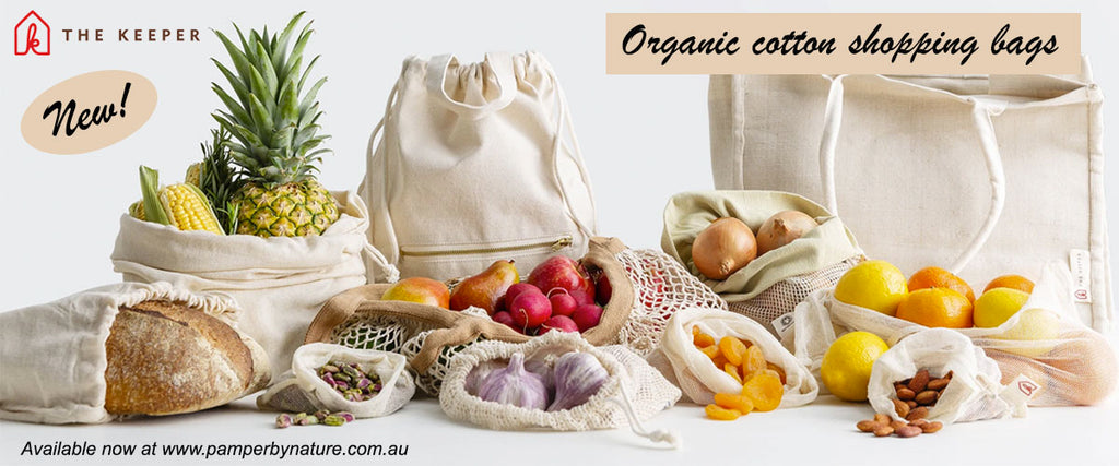 The Keeper Reusable Cotton Shopping & Produce Bags