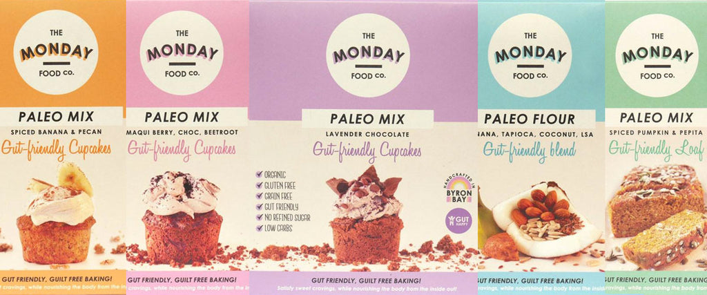 The Monday Food Co Gut Friendly Guilt Free Baking Products
