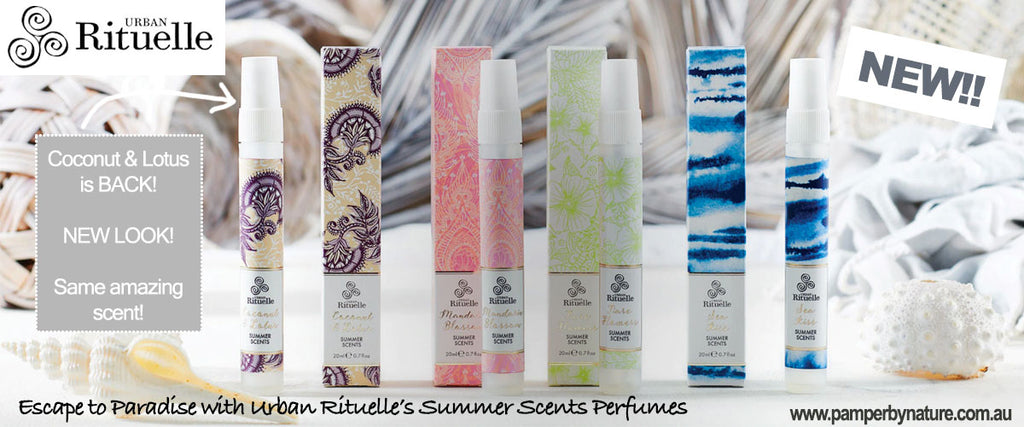 Urban Rituelle Summer Scents Perfume - Pamper by Nature