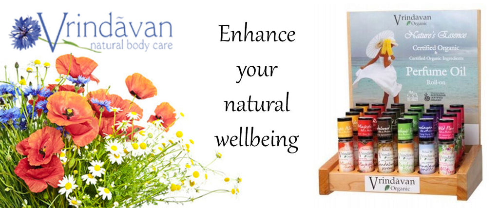 Vrindavan Natural Body Care - Perfume Oils