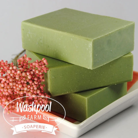Washpool Farm Facial Cleansing Bar - Aloe Vera & French Green Clay